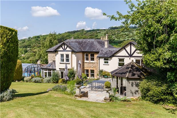 Thumbnail Detached house for sale in Stockwell Lane, Cleeve Hill, Cheltenham, Gloucestershire