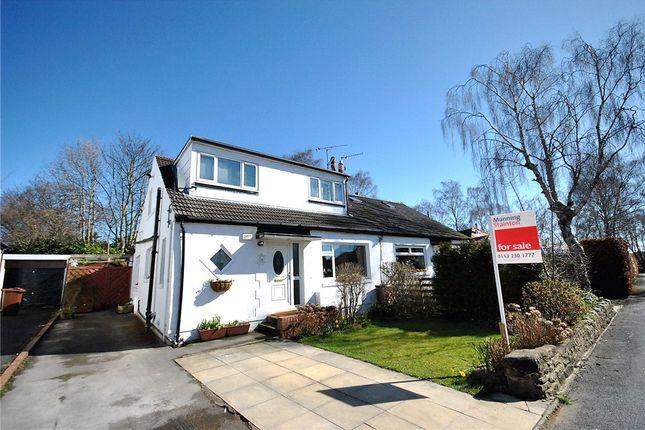 Thumbnail Semi-detached bungalow for sale in Sandy Walk, Bramhope, Leeds, West Yorkshire