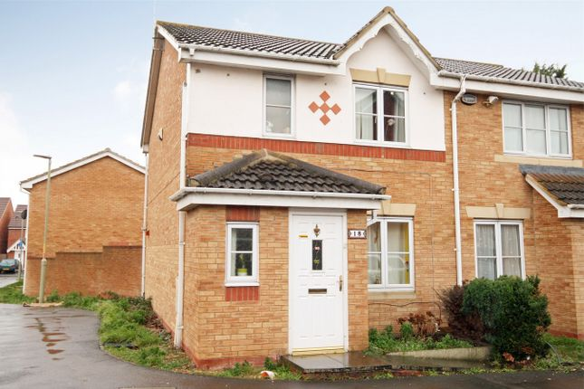 Thumbnail End terrace house for sale in Ince Castle Way, Tredworth, Gloucester