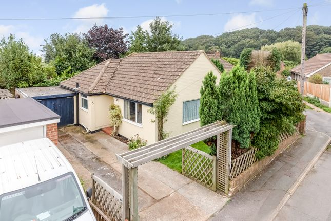 Thumbnail Detached bungalow for sale in Valley Road, Sandgate, Folkestone