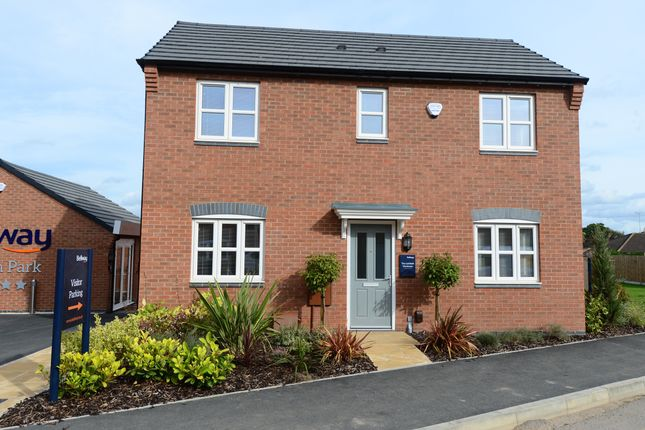 Thumbnail Detached house for sale in Derby Road, Wingerworth
