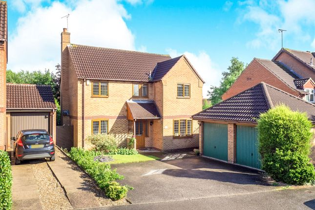 Thumbnail Detached house for sale in Northacre Road, Oakwood, Derby