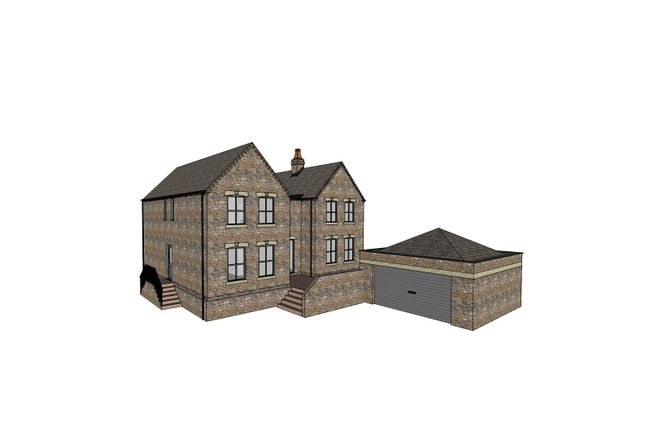 Thumbnail Detached house for sale in New House Plot 4, Beckland Hill, East Markham, Newark, Notts