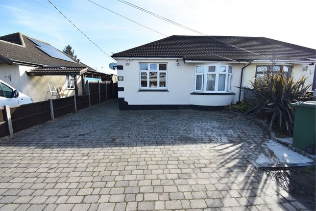 Thumbnail Semi-detached bungalow for sale in Pembroke Avenue, Corringham, Stanford-Le-Hope, Essex
