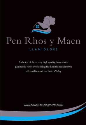 Thumbnail Detached house for sale in Pen Rhos Y Maen, Rhos Y Maen Uchaf, Llanidloes, Powys
