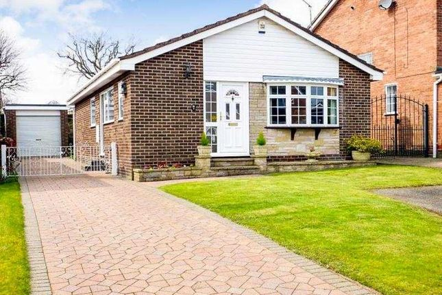 Thumbnail Bungalow for sale in Burbage Close, Dronfield Woodhouse, Derbyshire