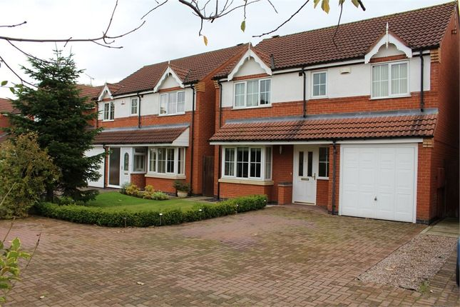 Thumbnail Detached house for sale in Netherfield Close, Broughton Astley, Leicester