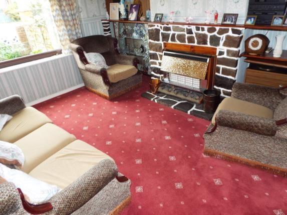 Lounge of Platt Lane, Manchester, Greater Manchester, Uk M14