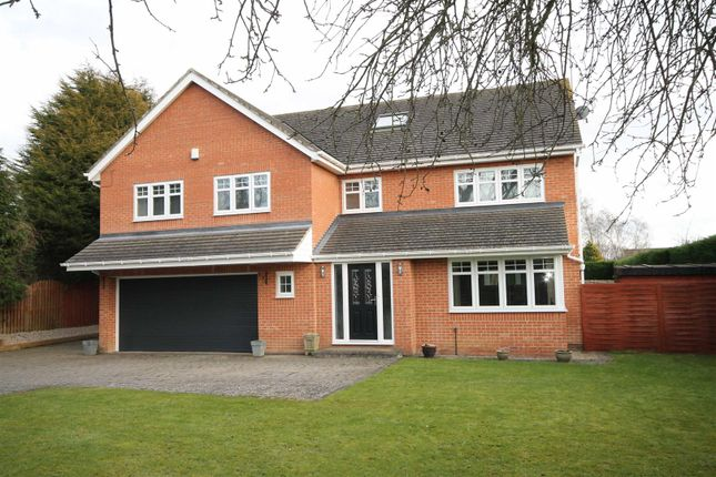 Thumbnail Detached house for sale in Eastern Way, Darras Hall, Newcastle Upon Tyne, Northumberland