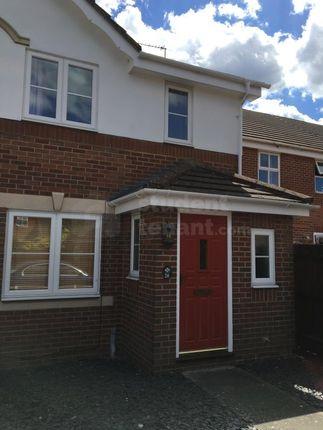 Thumbnail End terrace house to rent in Westbury Gardens, Farnham, Surrey