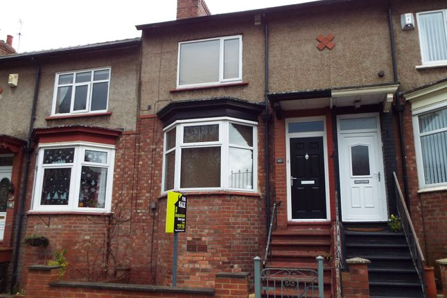 3 bed terraced house for sale in Pendower Street, Darlington