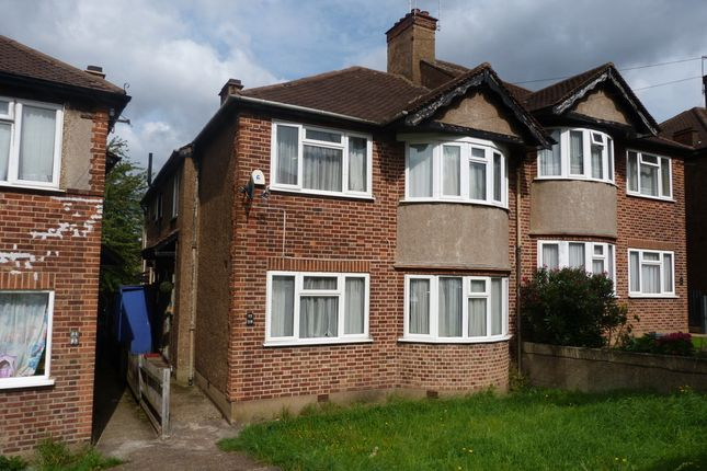 Thumbnail Flat to rent in Bryan Avenue, Willesden, London