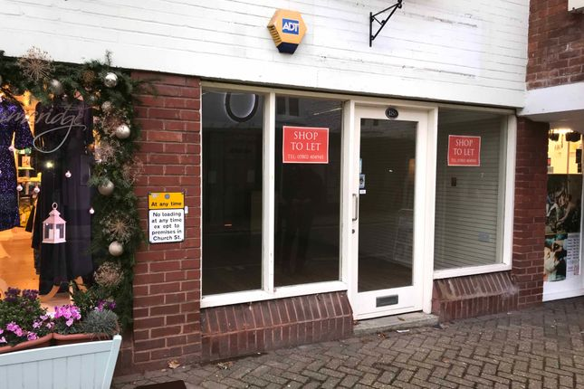 Thumbnail Retail premises to let in Church Street, Christchurch