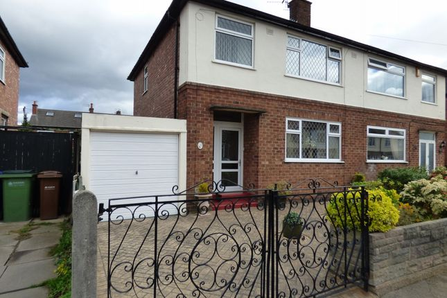 Thumbnail Semi-detached house for sale in Delamere Road, Stockport