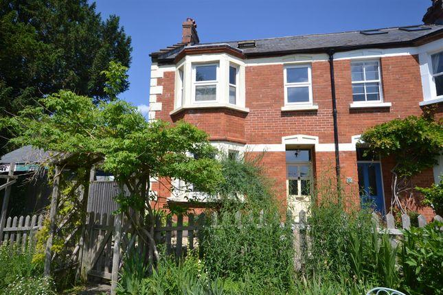 Thumbnail End terrace house for sale in St. Andrews Gardens, Bridport