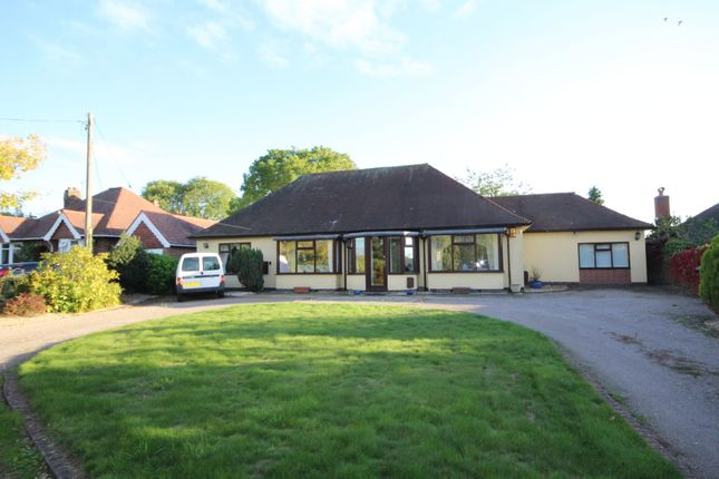 Thumbnail Detached bungalow for sale in Mill Lane, Wolvey Heath, Nr Hinckley