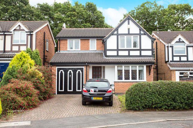 Thumbnail Detached house for sale in Cedarwood Court, Oakwood, Derby