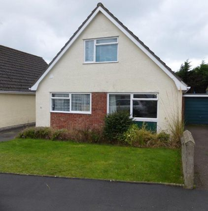 Thumbnail Detached house to rent in Heol Alun, Waunfawr
