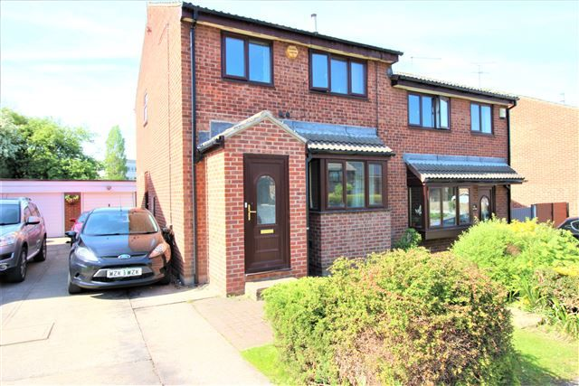 Thumbnail Semi-detached house to rent in Eden Glade, Swallownest, Sheffield, Rotherham