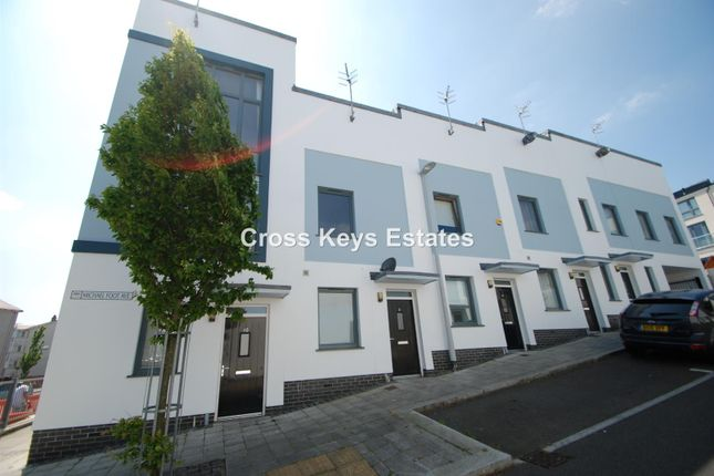 Thumbnail Terraced house to rent in Michael Foot Avenue, Plymouth