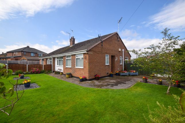 Thumbnail 2 bed semi-detached bungalow for sale in Chatsworth Road, Pensby, Wirral