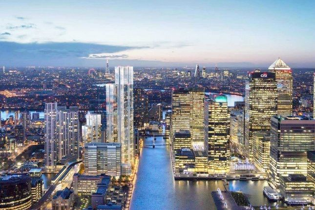 Thumbnail Flat for sale in Marsh Wall, London