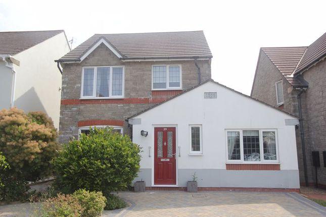 Thumbnail Detached house for sale in Cwrt Syr Dafydd, Llantwit Major