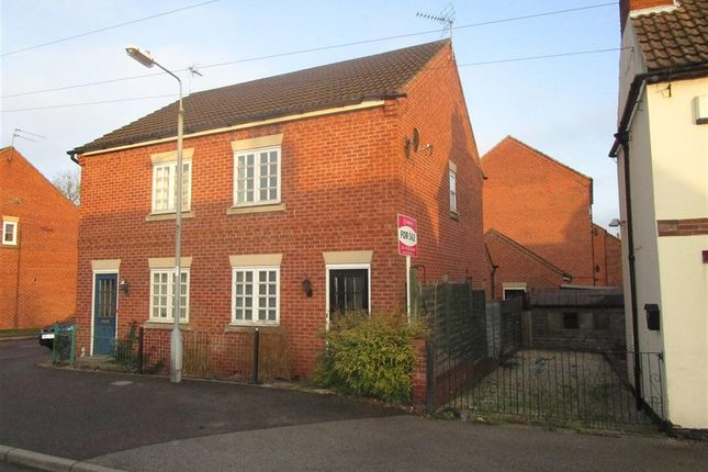 Thumbnail Semi-detached house for sale in Eldon Street, Tuxford, Newark