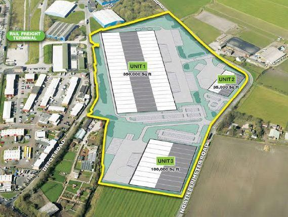 Light industrial for sale in Draco, North Perimeter Road, Knowsley Industrial Park, Knowsley, Merseyside