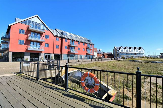 Thumbnail Flat for sale in Walter Radcliffe Road, Wivenhoe, Colchester, Essex