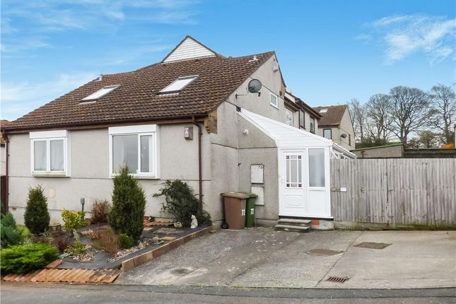 Thumbnail End terrace house for sale in Bellingham Crescent, Plymouth