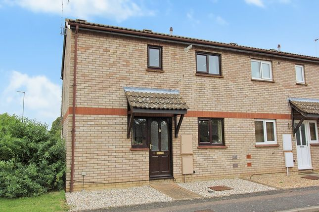 Thumbnail End terrace house for sale in Brickhills, Willingham, Cambridge
