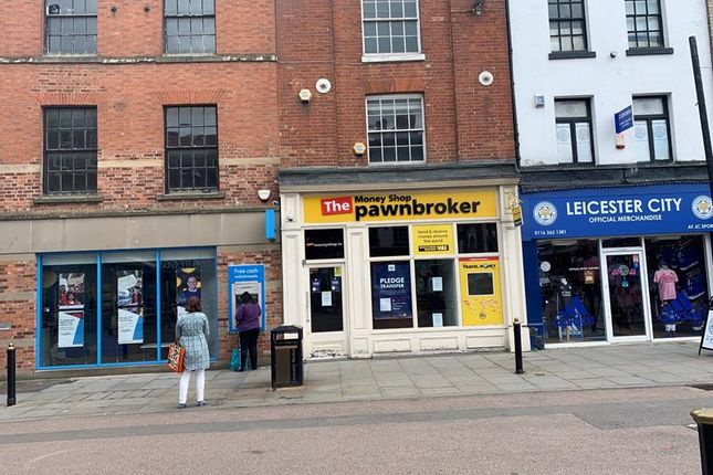 Thumbnail Retail premises for sale in Market Place, Leicester, Leicestershire