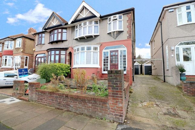 3 bed semi-detached house for sale in Herent Drive, Clayhall, Ilford