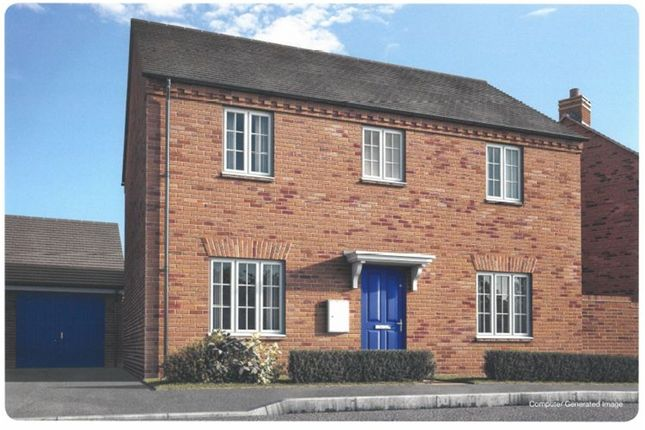 Thumbnail Detached house for sale in Plot 38, Moorland Glade, Hillmorton, Rugby