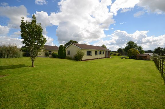 Thumbnail Detached bungalow for sale in Sampford Peverell, Tiverton