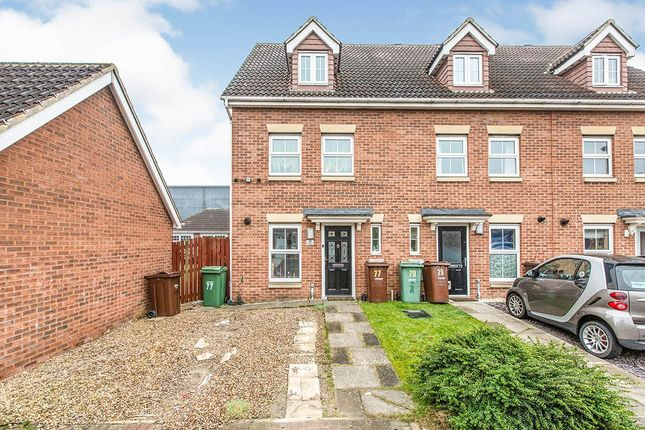 Thumbnail End terrace house for sale in Cherry Tree Walk, Knottingley, West Yorkshire