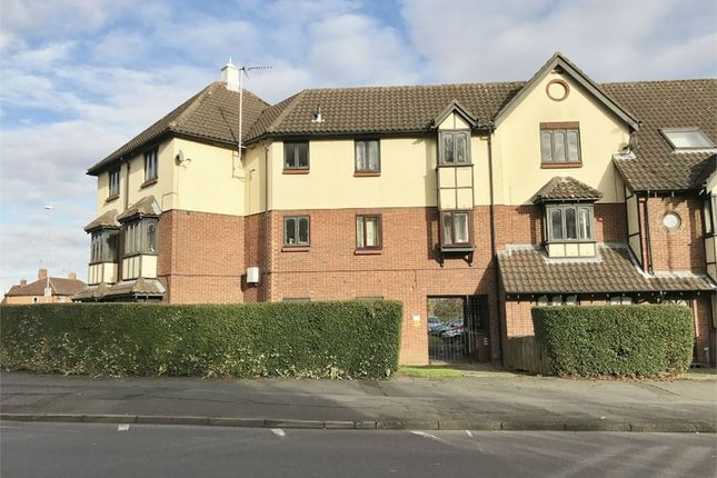 Thumbnail Flat for sale in Stephenson Way, Corby