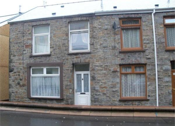 Thumbnail End terrace house for sale in Penrhiwceiber Road, Penrhiwceiber, Mountain Ash