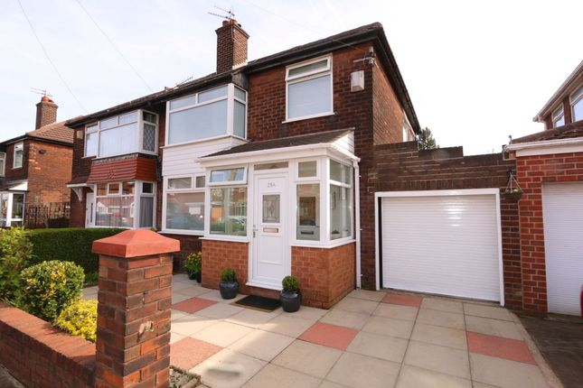 Thumbnail Semi-detached house for sale in Haughton Hall Road, Denton, Manchester