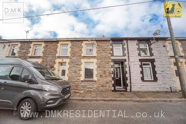 Thumbnail Terraced house to rent in Bryn Wyndham Terrace, Treherbert, Treorchy