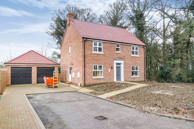 Thumbnail Detached house for sale in Hospital Road, Little Plumstead, Norwich