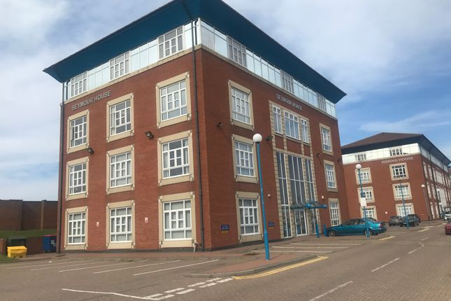 Thumbnail Office to let in First Floor Seymour House, Hartlepool Marina, Hartlepool