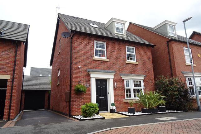 Thumbnail Detached house for sale in Pickwell Drive, Syston, Leicestershire
