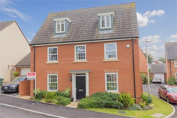 Thumbnail Detached house for sale in Beacon Drive, Highweek, Newton Abbot, Devon.