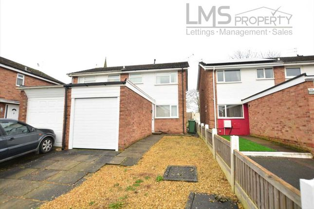3 bed semi-detached house to rent in Carlisle Close, Winsford CW7
