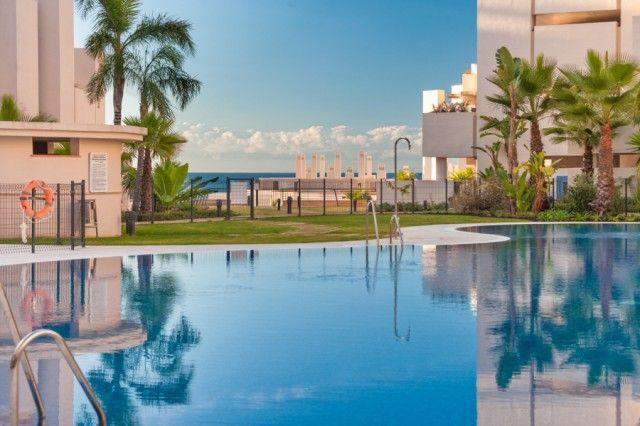 Pool And Sea of Spain, Málaga, Estepona