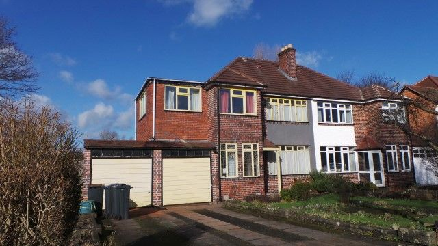 Thumbnail Semi-detached house for sale in Welford Road, Sutton Coldfield, West Midlands