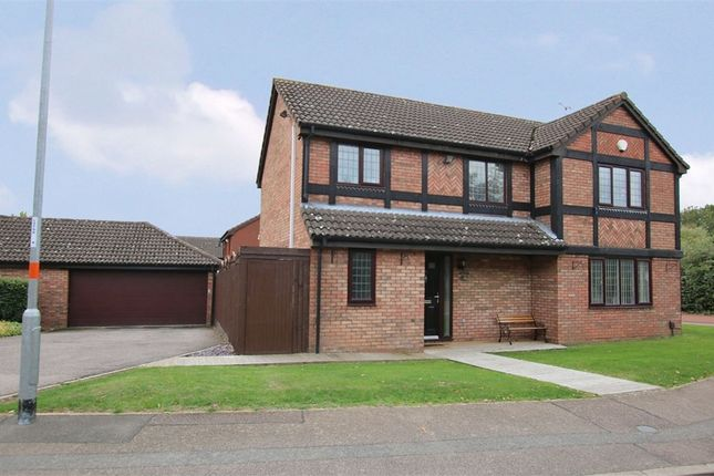 Thumbnail Detached house for sale in Hobby Close, East Hunsbury, Northampton