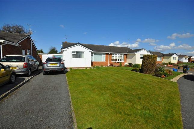 Thumbnail Semi-detached bungalow to rent in Wirral View, Connah's Quay, Deeside